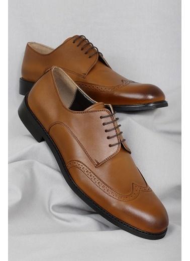 CZ London Hakiki Deri Ayakkabı Taba